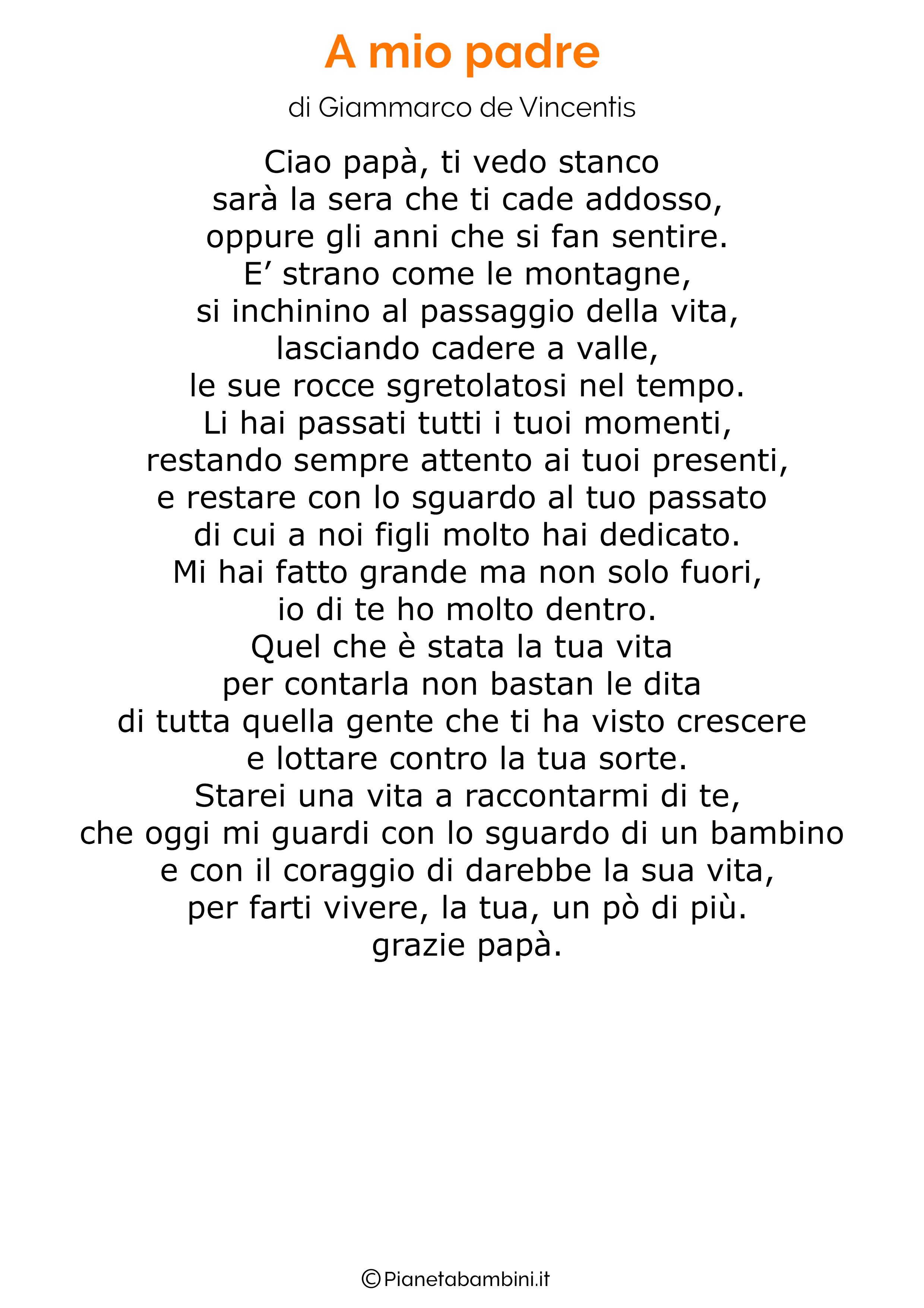 Poesia per la festa del papa per bambini 33