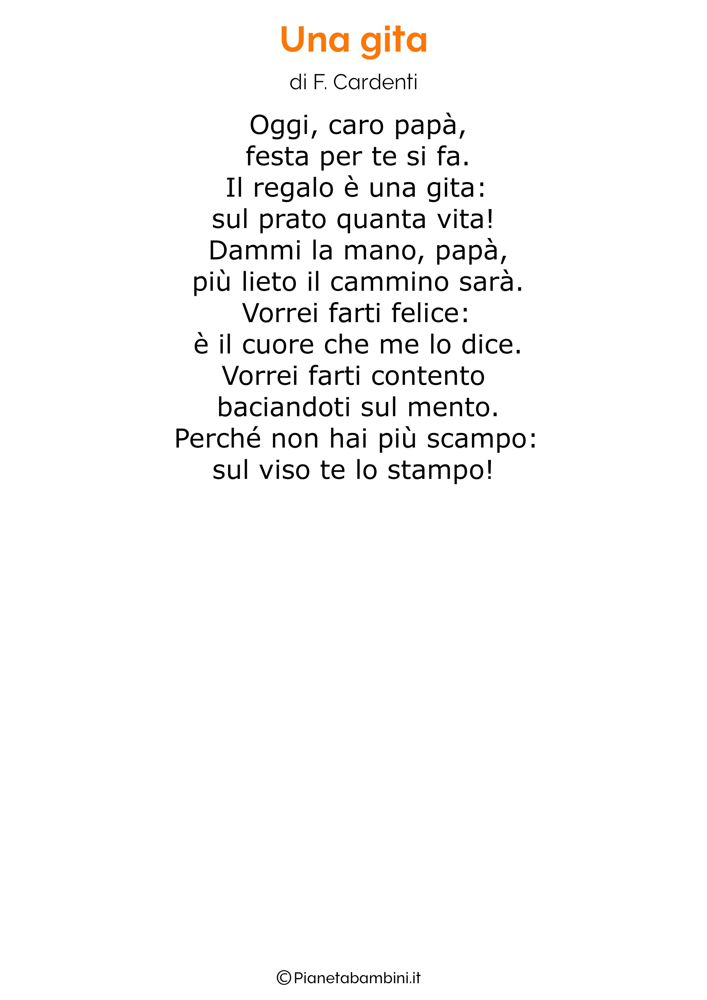 Poesia per la festa del papa per bambini 38