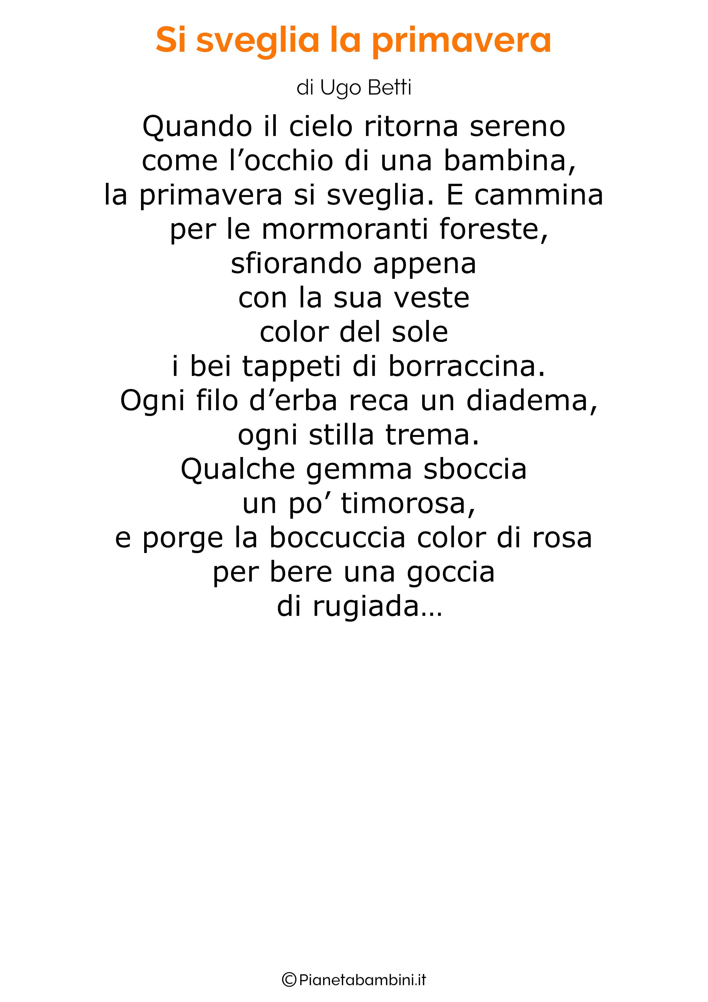 Poesia sulla Primavera 07