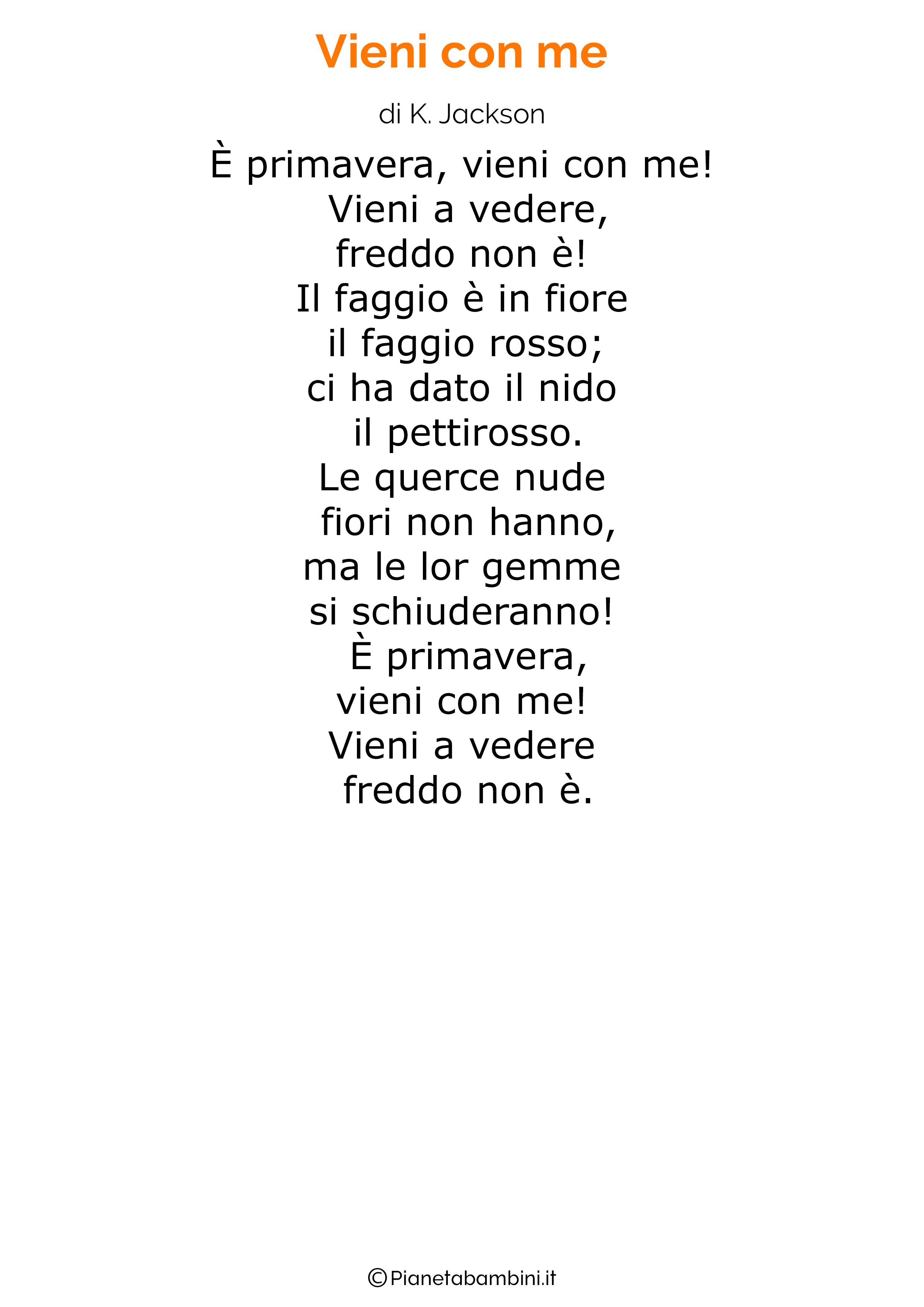 Poesia sulla Primavera 11