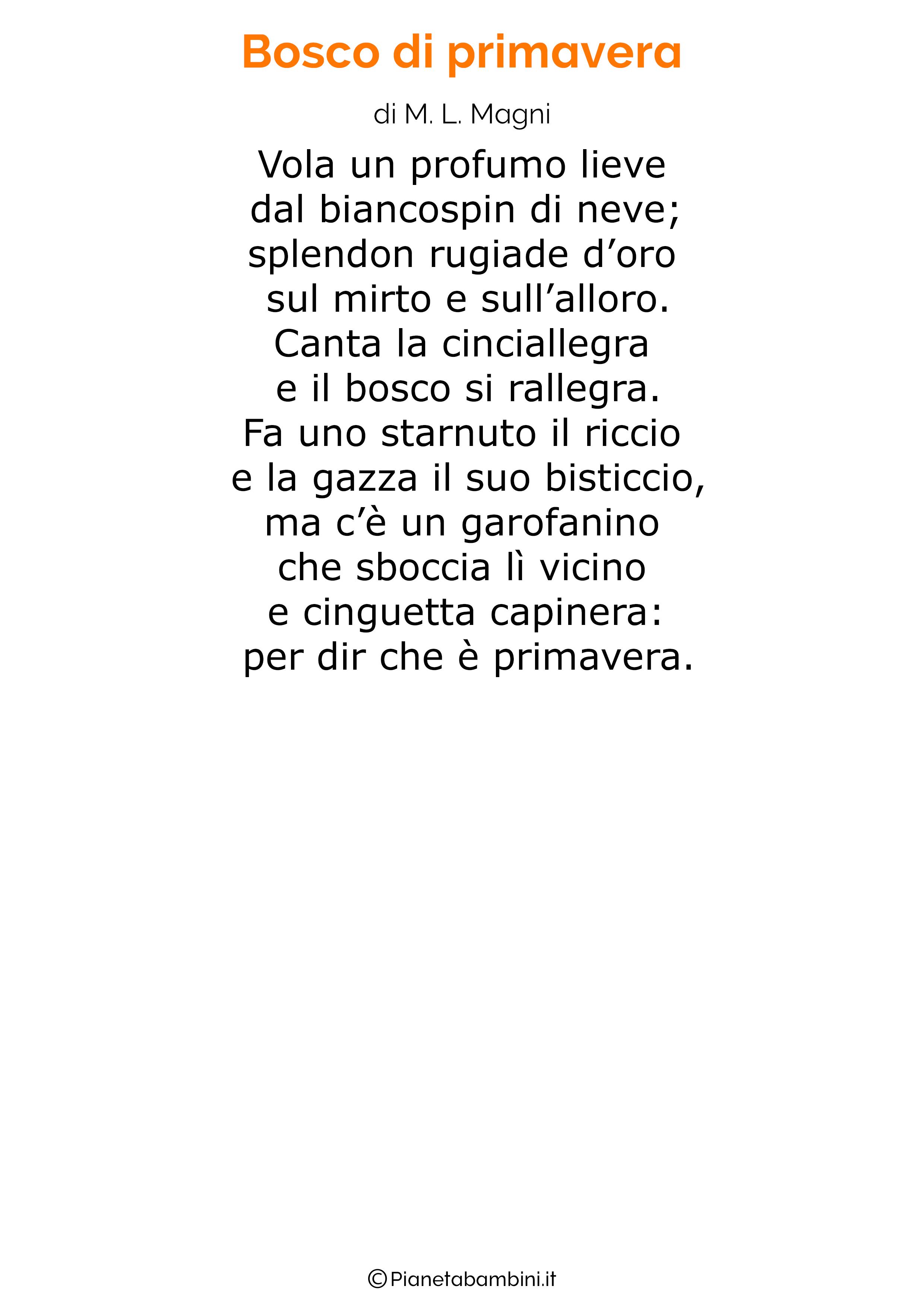 Poesia sulla Primavera 27
