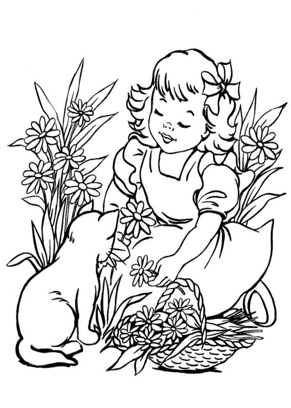 Disegni Da Colorare Primavera.170 Disegni Di Primavera Da Colorare Per Bambini