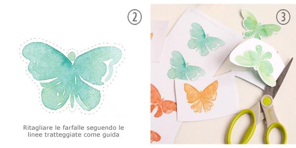 Come ritagliare le farfalle