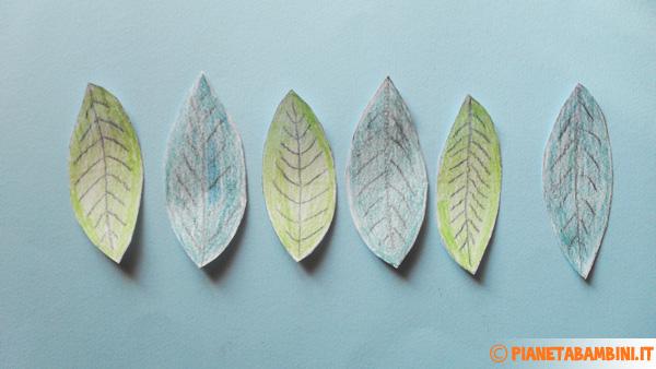 Come ritagliare le sagome delle foglie