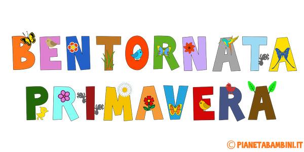 Addobbi Di Primavera Per La Scuola Dell Infanzia E Primaria
