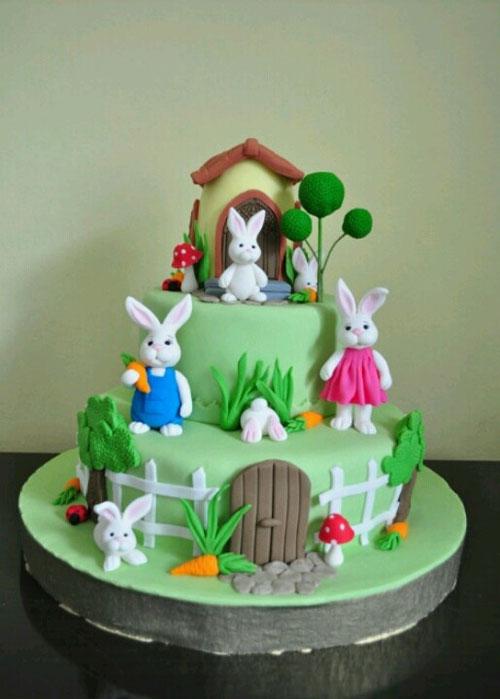 Foto della torta di Pasqua n. 08