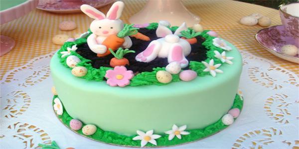 Torte di Pasqua da realizzare con decorazioni in pasta di zucchero