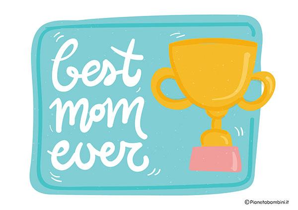 Immagine del diploma per la festa della mamma n.14