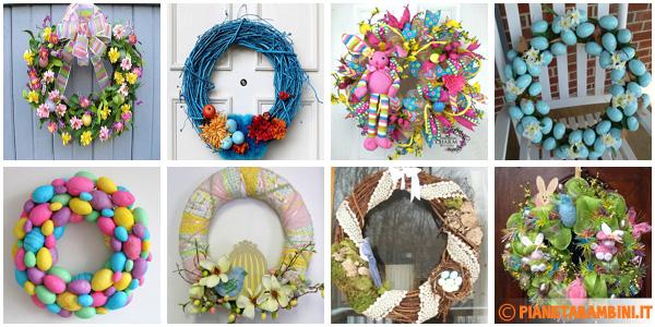 50 ghirlande pasquali da cui trarre idee per il fai da te - Fai da te pasqua decorazioni ...