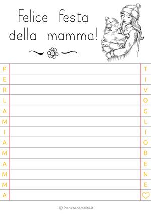 Letterina per la festa della mamma n. 14