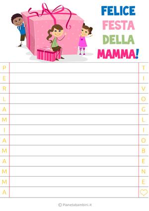 Letterina per la festa della mamma n. 2