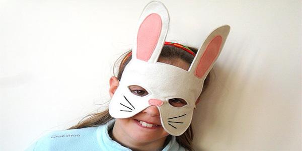 Maschere da coniglio da stampare e ritagliare