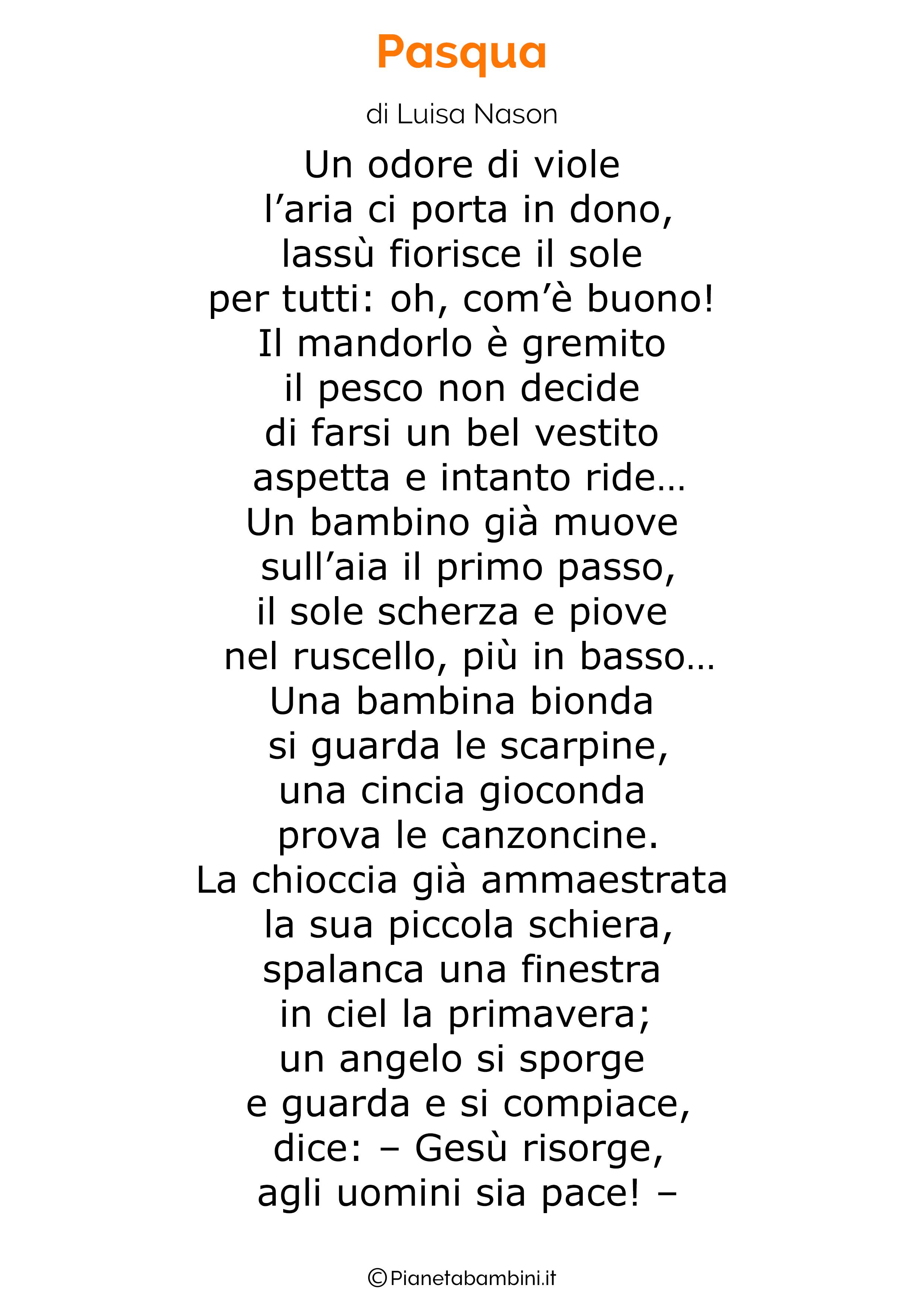 Poesia di Pasqua 07