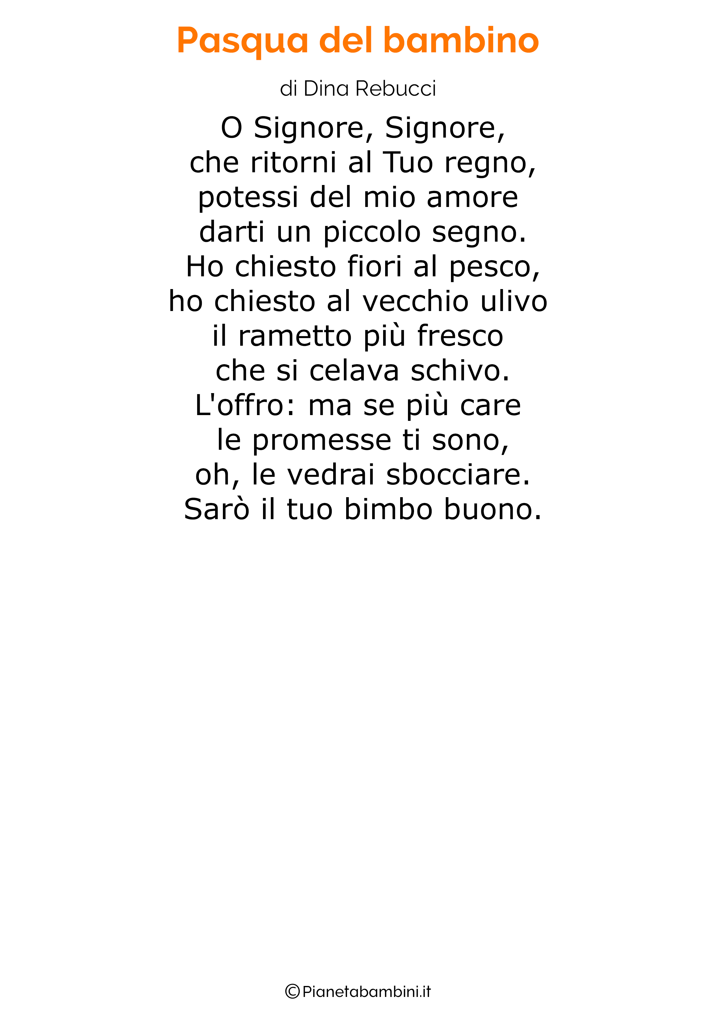 Poesia di Pasqua 21