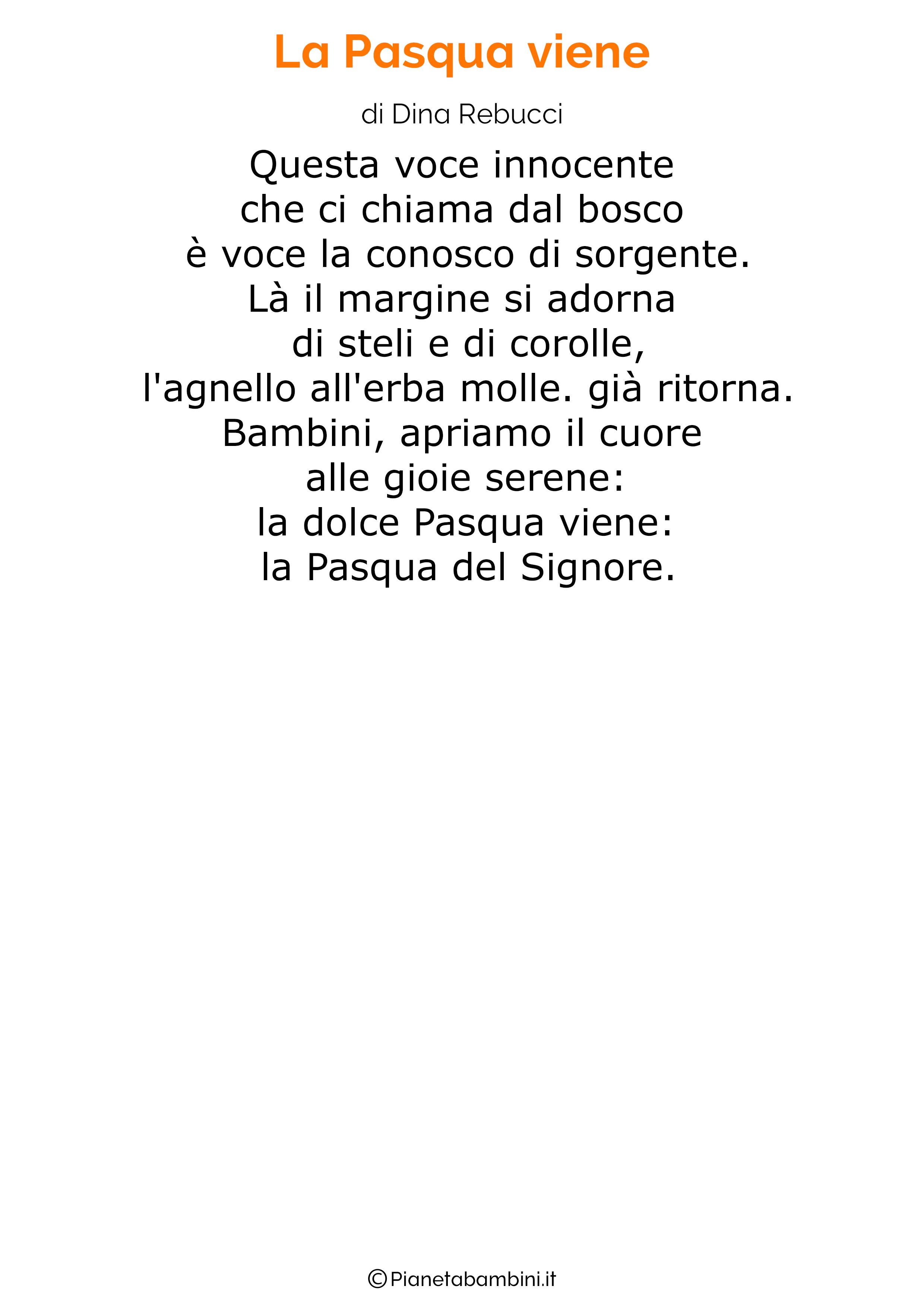 Poesia di Pasqua 23