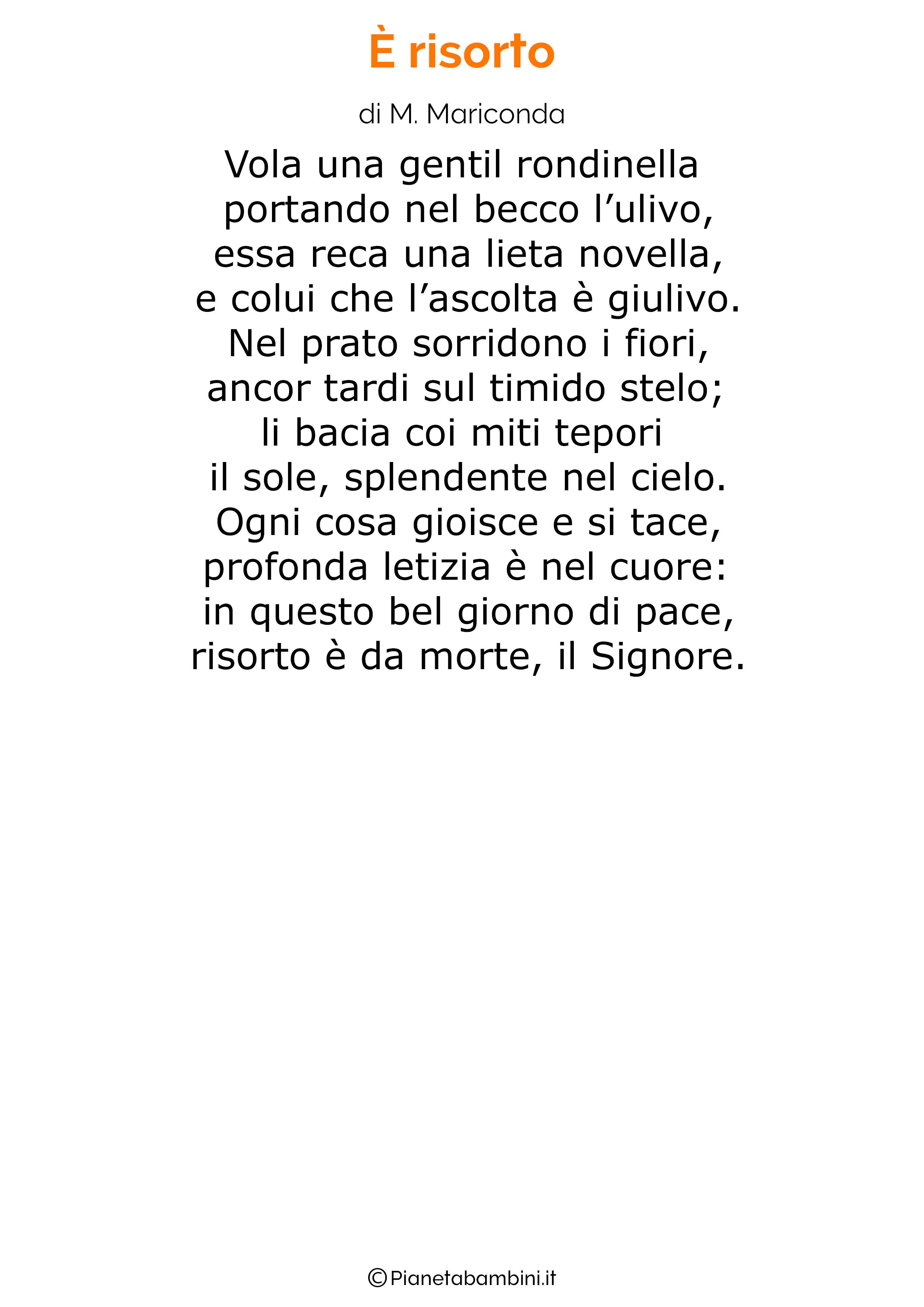 Poesia di Pasqua 37