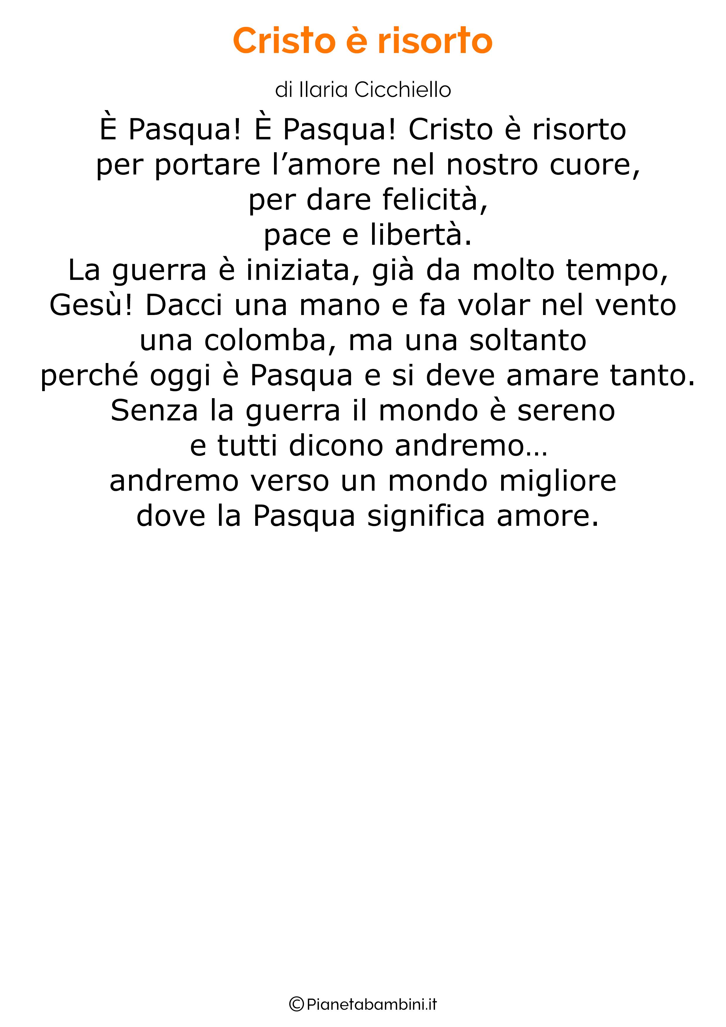 Poesia di Pasqua 45