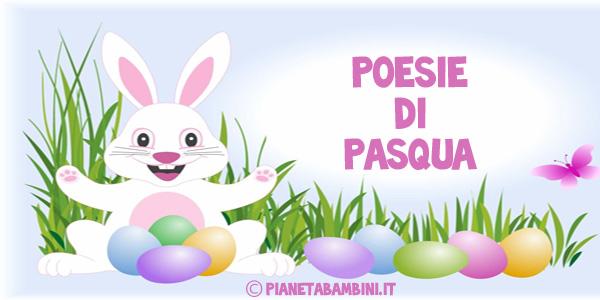 Poesie di Pasqua per bambini da stampare o consultare online