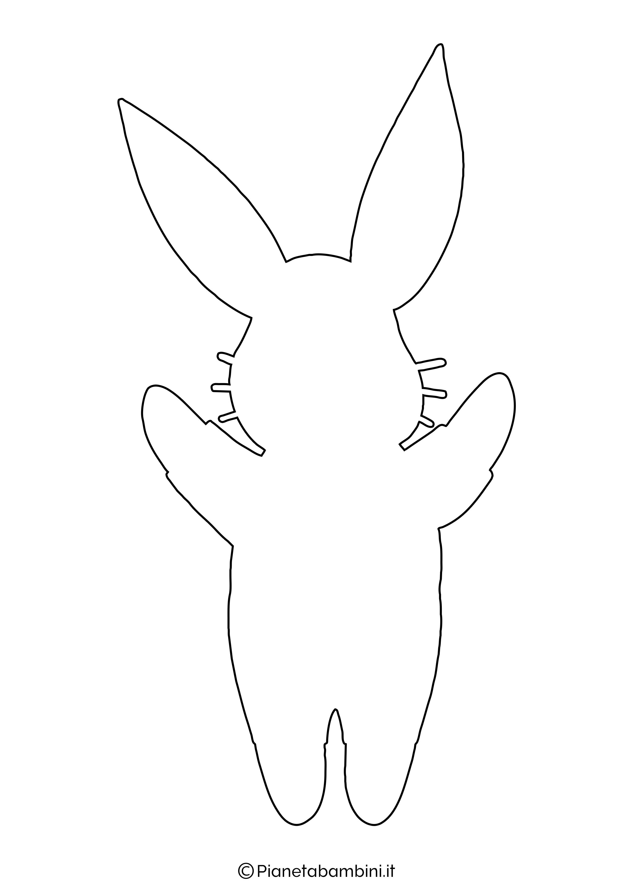Sagome di coniglietti da stampare 01