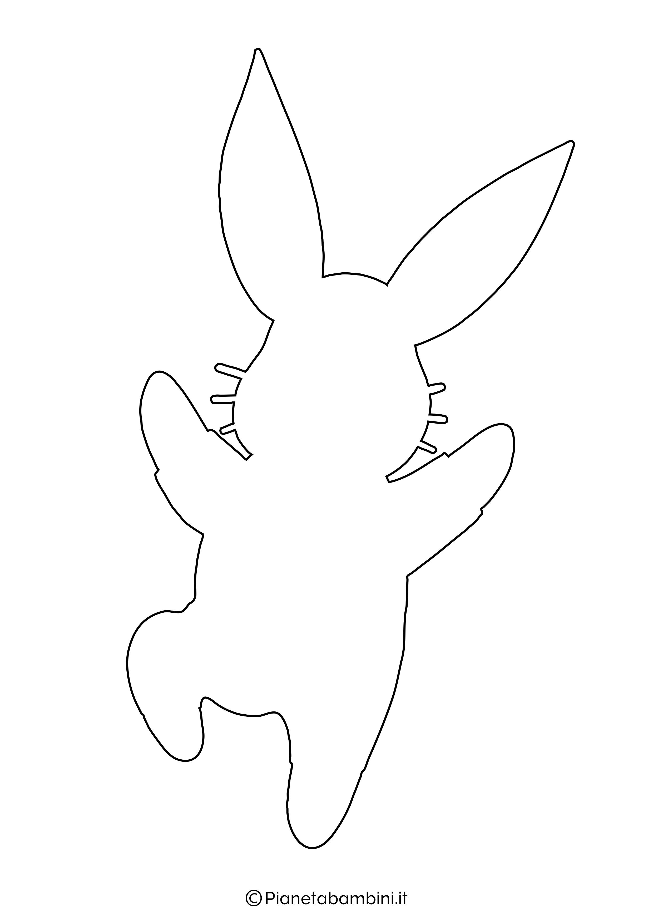 Sagome di coniglietti da stampare 02
