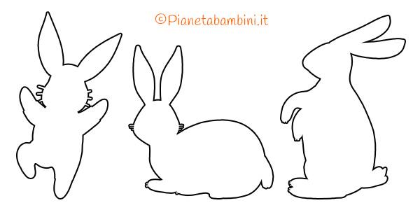 Coniglietti da stampare