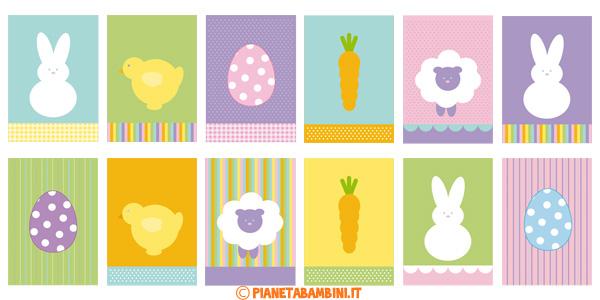 Immagini di Pasqua da stampare per decorazioni