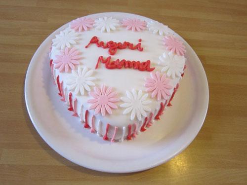 Foto della torta per la festa della mamma n. 03