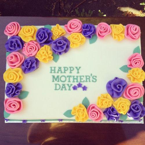 Foto della torta per la festa della mamma n. 07