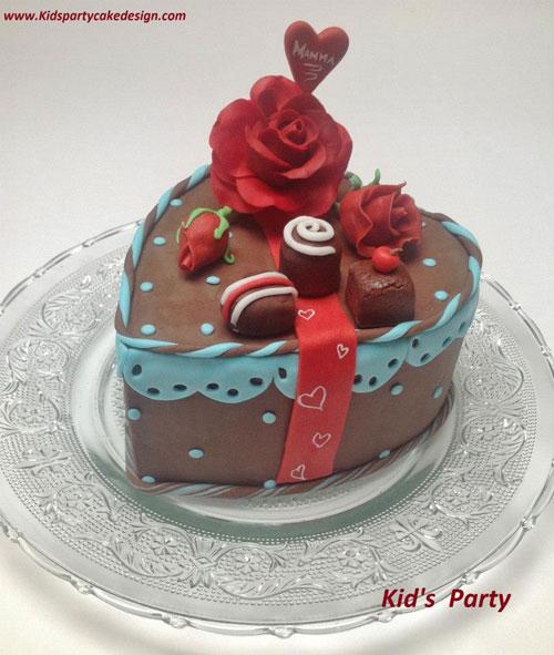 Foto della torta per la festa della mamma n. 13