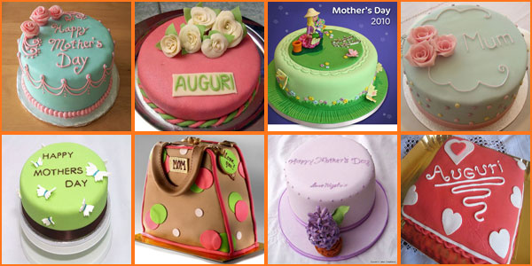 Foto di torte per la festa della mamma in pasta di zucchero