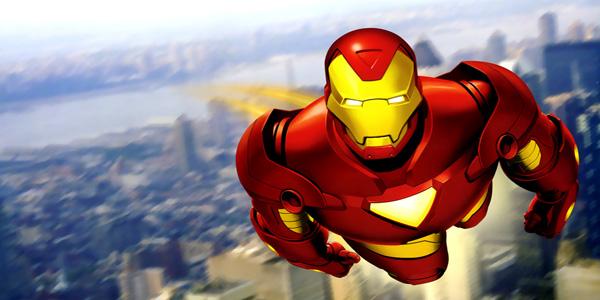 Disegni di Iron Man da stampare e colorare