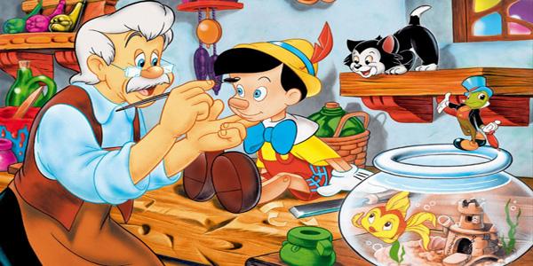 Fiaba di Pinocchio da leggere, vedere o ascoltare