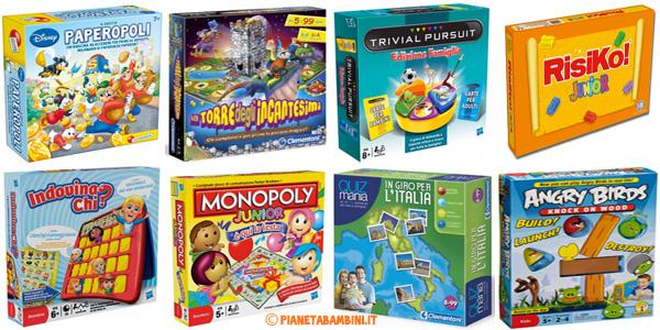 Giochi di società e da tavolo per bambini da 3 anni in su