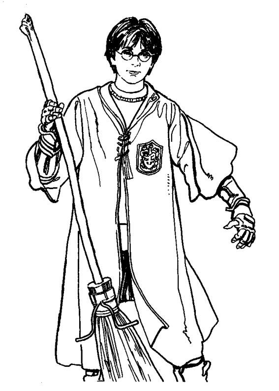 Harry Potter Disegni Facili Acolore