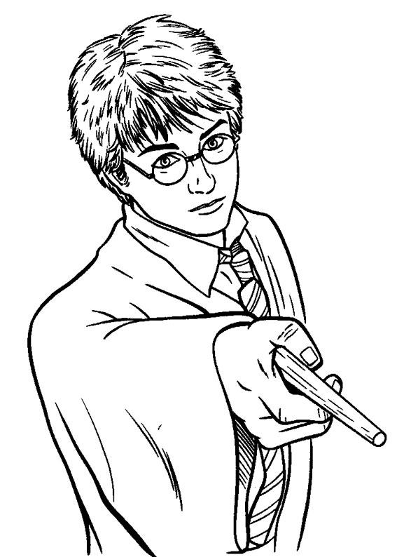 120 Disegni Di Harry Potter Da Colorare Pianetabambini It