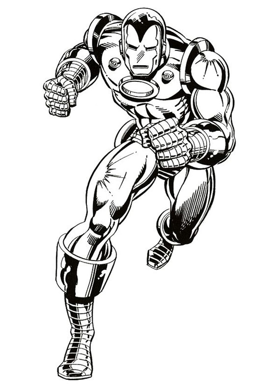 60 Disegni Di Iron Man Da Colorare Pianetabambini It
