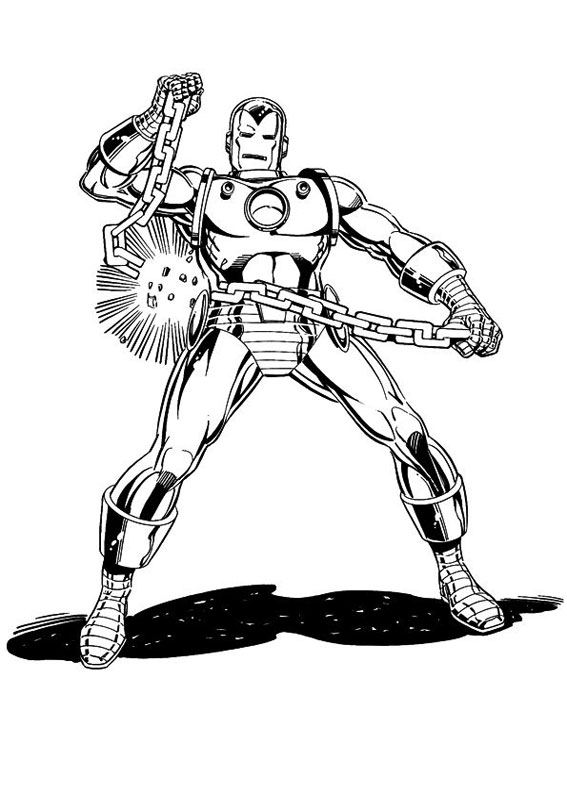 iron patriot coloring coloring pages - Iron Man Patriot Coloring Pages