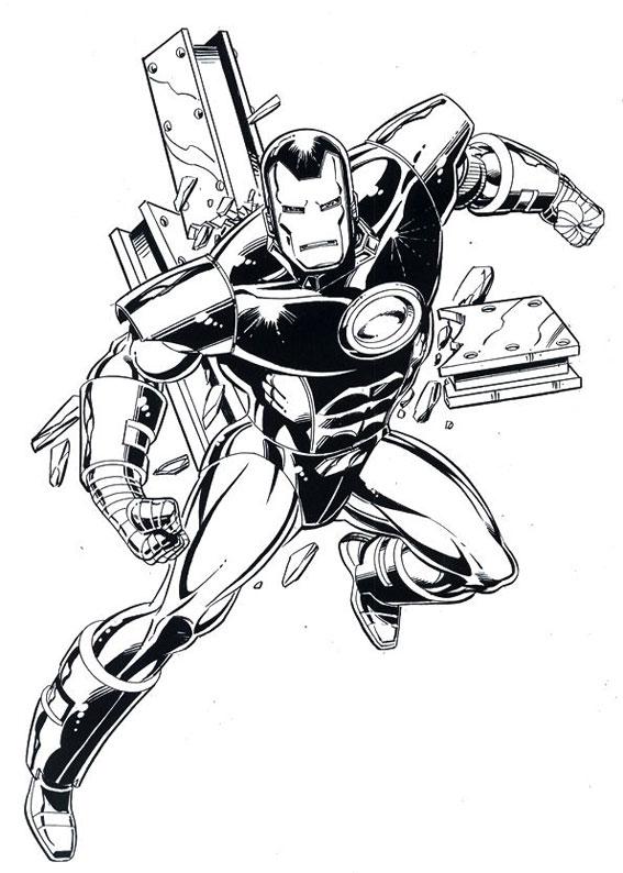 60 Disegni Di Iron Man Da Colorare Pianetabambini It