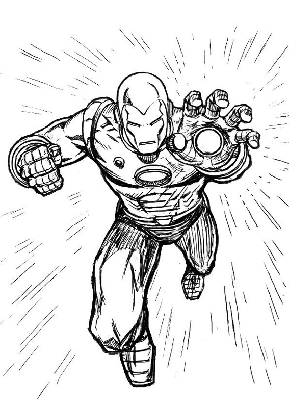 iron man coloring pages from the movie | 60 Disegni di Iron Man da Colorare | PianetaBambini.it