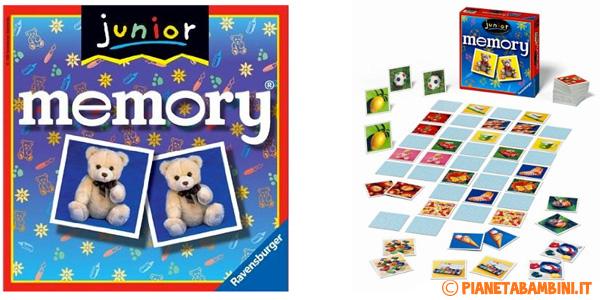 Immagine del gioco di società Junior Memory