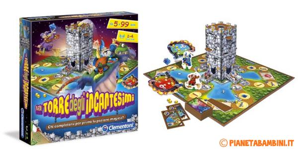 Immagine del gioco da tavolo La Torre Degli Incantesimi