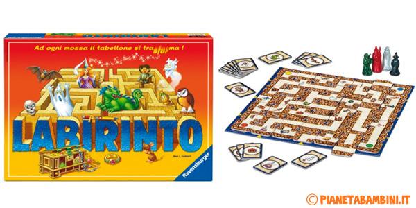 Immagine del gioco da tavolo Labirinto