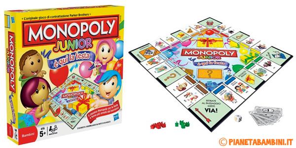 Immagine del gioco di società Monopoly Junior