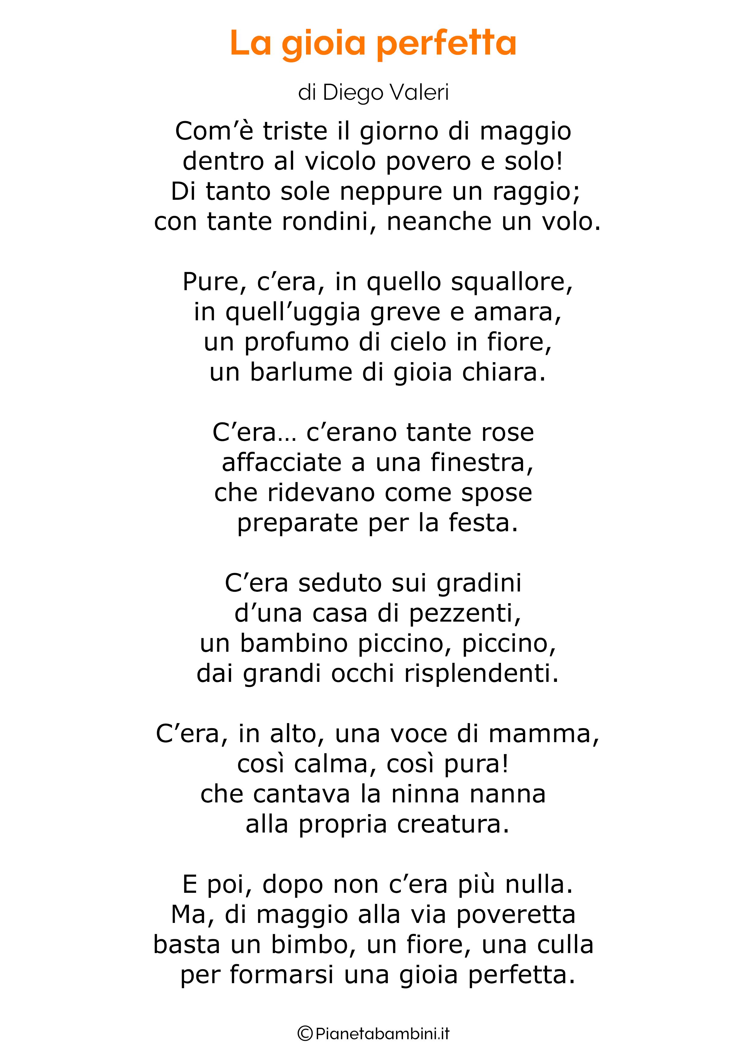 Poesia per la festa della mamma da stampare 27