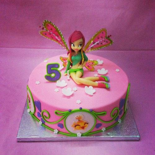 Foto della torta delle Winx n. 02