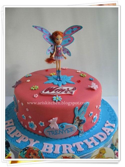 Foto della torta delle Winx n. 04
