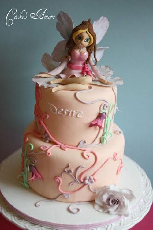 Foto della torta delle Winx n. 05