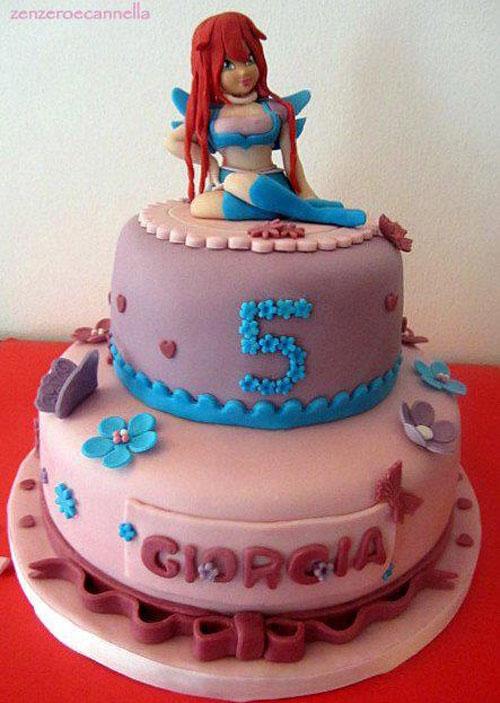 Foto della torta delle Winx n. 06