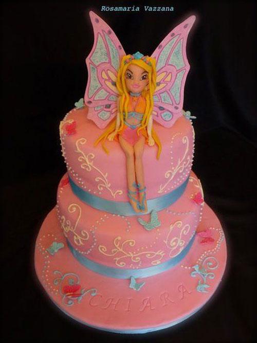 Foto della torta delle Winx n. 07