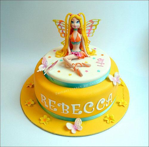 Foto della torta delle Winx n. 08
